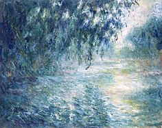 Morning on the Seine 1898 Claude Monet
