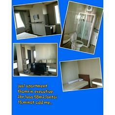 Jual cepat apartment thamrin executive 2bed