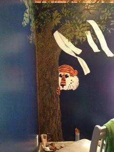 Mural for Auburn University Fan