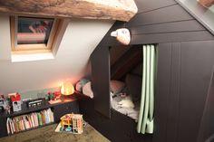 TOUCH cette image: Pour plus d'information sur les chambres- lits cabane by Velux