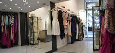 #Vestidos de #novia y #fiesta hechios a mano en #Barcelona por Eugenia Santiago en su #boutique de Rambla Catalunya. http://www.eugeniasantiago.com/tienda-de-novia-barcelona