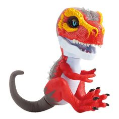 Fingerlings Untamed- Baby T-Rex Ripsaw in One Colour Lps Pets, Pet Toys, How To Make Toys, Jurassic Park World, Prehistoric Creatures, Recycling Bins, Dinosaur Birthday, Lego Marvel, T Rex