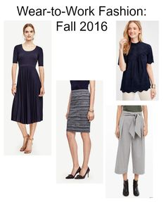 """Before you """"back-to-work"""" shop this fall - check out this round up of fall's best on-trend items to wear to work!!"""