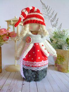 Handmade doll ragdoll toyTilda dolls by ChernikovaNataliya on Etsy
