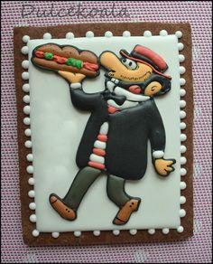 Carpanta galleta decorada, decorated #cookies