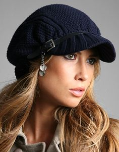 574194d0c27 Patrizia Pepe Chunky Knitted Baker Boy hat at ASOS- Love it!! Baker Boy