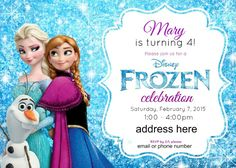 Frozen Birthday Party Ideas: Pink, Purple, Blue, and a Jumper, Too! - Honey + Lime