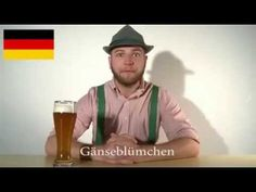 German Language Compared to other Languages.  And I can laugh at this because I have German heritage.