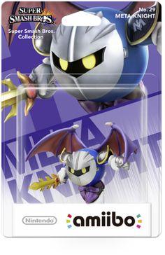 New amiibo Meta Knight Super Smash Bros series Nintendo Wii U Japan import Nintendo 3ds, Nintendo Switch, Nintendo Controller, Mario Kart, Mario Bros, Wii U, Xbox One, Kirby Games, Nintendo Super Smash Bros