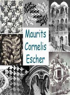 Leuke en informatieve powerpoint over Maurits cornelis escher voor 5, deze en nog vele andere kun je downloaden op de website van Juf Milou. Art Lessons For Kids, Art For Kids, Mc Escher Art, Principles Of Art, Illusion Art, Albrecht Durer, Renaissance Art, Tree Art, Op Art
