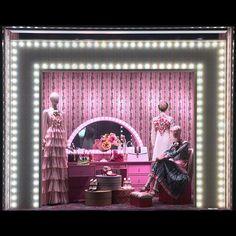 The magnetic surrealistic at Salon Window Display, Fashion Window Display, Shop Window Displays, Pop Display, Display Design, Front Door Design, Window Design, Visual Merchandising Displays, Cosmetic Display