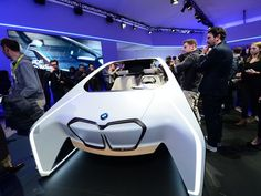At CES 2017, the frenzy over self-driving cars is palpable