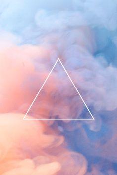 ▲ Hipster Wallpaper, Emoji Wallpaper, Cool Wallpaper, Pretty Backgrounds, Phone Backgrounds, Wallpaper Backgrounds, Stock Background, Triangle Art, Sound Art