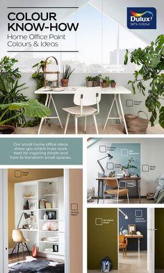 Dulux Paint Colours Neutral, Office Paint Colors, Home Office, Decor Ideas, Bedroom, Space, Create, Furniture, Design