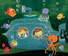 underwater fun by michael robertson