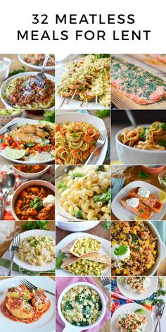 32 meatless meals fo