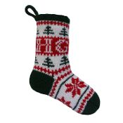Free Personalised Christmas Stocking - via @Craftsy free pattern