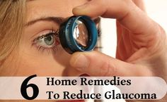 Pigmentary Glaucoma Natural Remedies