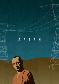 minimalmovieposters:    Se7en byOliver Shilling  Prints available here