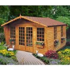 Goodwood Gold Beaulieu Summerhouse (10' x 8') - £1,085.00 Various sizes available