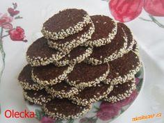 Kávové sušenky pro milovniky kávy | Mimibazar.cz Christmas Sweets, Christmas Baking, Christmas Cookies, Muffin, Chocolate, Breakfast, Cake, Christmas Class Treats, Xmas Cookies