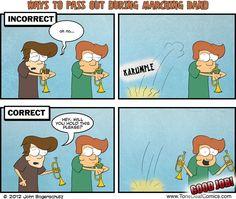 Tone Deaf Comics- Proper Way to Pass Out