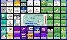 Symbaloo: Generadores de Actividades Escolares | PaLaBraS AzuLeS Anterior Y Posterior, Puzzles, Spelling And Grammar, Apps, Teacher Resources, Teaching Ideas, Game, Blog, Educational Activities