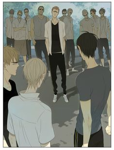 19 Days // Old Xian That guy just had to come and begin all the heartbreaking beautiful crisis in the manhua