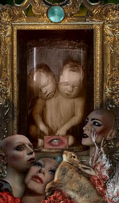 """jac-zap - """"Nature morte avec Caïn et Abel"""" - Avril 2015"""