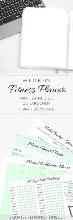 How a fitness planner can help you achieve your goals - - Fitness Workouts, Fun Workouts, Fitness Motivation, Fitness Sport, Jamie Eason, Fitness Tracker, Bujo, Gratis Download, Fitness Planner