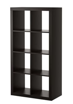 2x brown book cases (similar - ours have backing, crown and foot molding, and the bottom section is not divided)