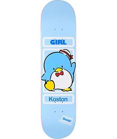 """Girl x Sanrio Koston Hello Kitty 8.0"""" Skateboard Deck"""