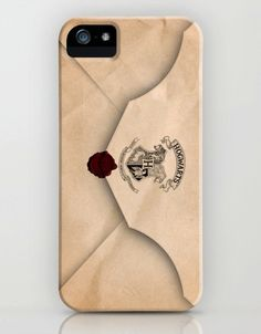 Hogwarts Letter iPhone case ... I would be lying if I said I didn't want this ... badly! Instead of pinning this is my humor board, this is going in my Nifty Home Ideas board.. I am THAT serious about getting this.