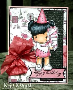 Paper Perfect Designs by Kim O'Connell: C.C. Designs Swiss Pixie Birthday Lucy