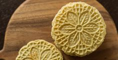 Authentic Pizzelle   Wayfair. Ingredients: 3 large eggs (beaten), 3/4 cup sugar, 3/4 cup butter (melted), 1.5 cups flour, 1 tsp baking powder, 2 tsp vanilla, 1 tsp anise extract. Add and beat the ingredients in the order listed, beating well after each addition. Preheat your pizzelle maker and cook them according to manufacturer's instructions.
