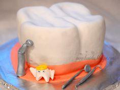 My Carved Cake – Tooth Cake carved cake tooth tutorial Fondant Cakes, Cupcake Cakes, Cupcakes, Dental Cake, Tooth Cake, Surprise Cake, Birthday Themes For Boys, Mud Cake, Cake Gallery