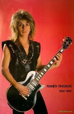 Randy Rhoads - The one and only.  Gone too soon.
