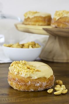 Peanut Butter & Jelly Croissant Donuts Recipe