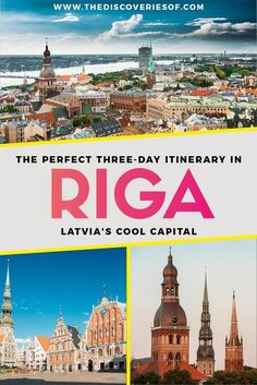Best Things to do in Riga, Latvia - The coolest city break in Europe #europe #citybreak #riga #traveldestinations #latvia