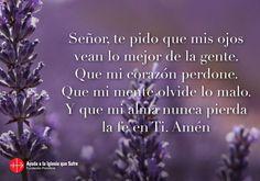 Oración paz interior