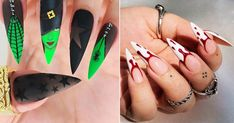 halloween nails designs - Google Search