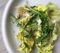 Salatsoße mit laktosefreier Sahne und Senf