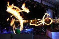 Espectacle de foc. Foto de David Esquerrà.