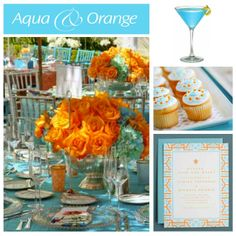 Teal and Orange!