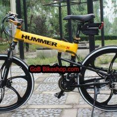 MTB-006 HUMMER-X ล้อแม็ก มี 2 สี ขาว และ เหลือง 16500 บาท