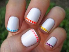 Easy Nail Designs For Home