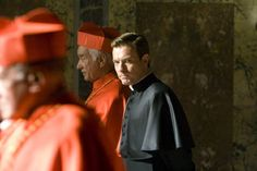 Film: Angels & Demons   --Still of Armin Mueller-Stahl and Ewan McGregor in Angels & Demons (2009)
