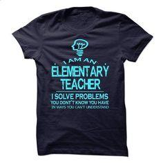 i am a/an ELEMENTARY TEACHER - #unique hoodie #black hoodie. GET YOURS => https://www.sunfrog.com/No-Category/i-am-aan-ELEMENTARY-TEACHER-57948153-Guys.html?68278