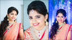 South Indian , Hyderabadi Telugu bride --resplendent bride in all her finery, walks across the aisle, ready to stun the people around! People have been enamoured of her gorgeous lehenga, her intricately designed blouses, her grand weddi...