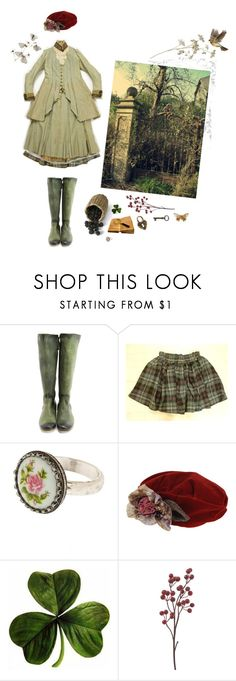 """The Secret Garden"" by silenthedge ❤ liked on Polyvore featuring John Fluevog and Grevi"